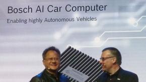 NVIDIA 与 Bosch 共同发布人工智能自动驾驶车载计算机