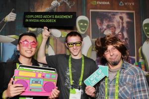 GTC 2018   穿越虫洞,NVIDIA Holodeck带你体验《头号玩家》中的世界