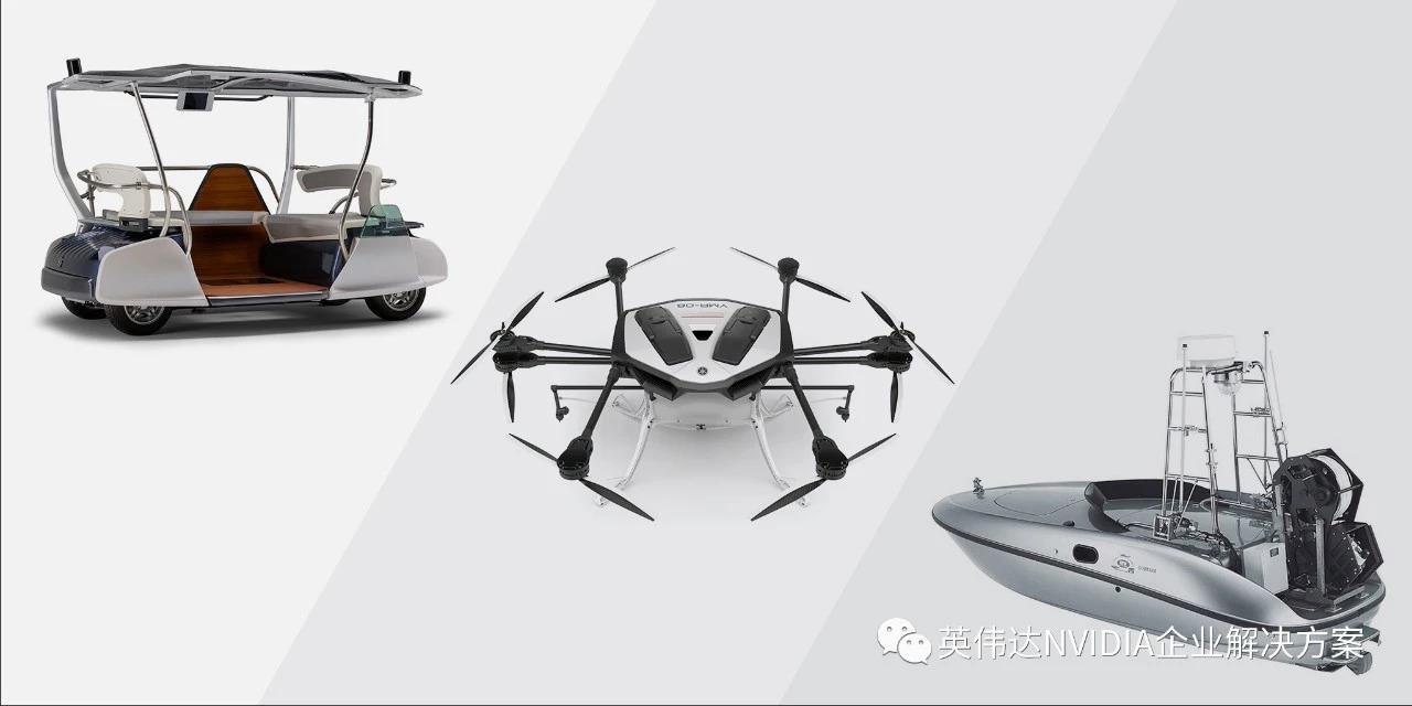 雅马哈采用NVIDIA的Jetson AGX Xavier研发其陆海空自主机器人