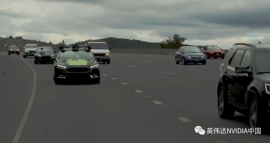 NVIDIA自动驾驶测试车完成80公里公路环行