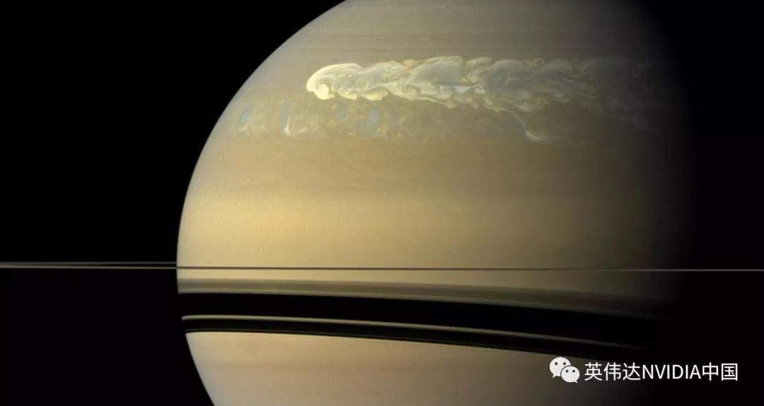星球风暴中的AI:研究人员利用深度学习分析土星的大气活动