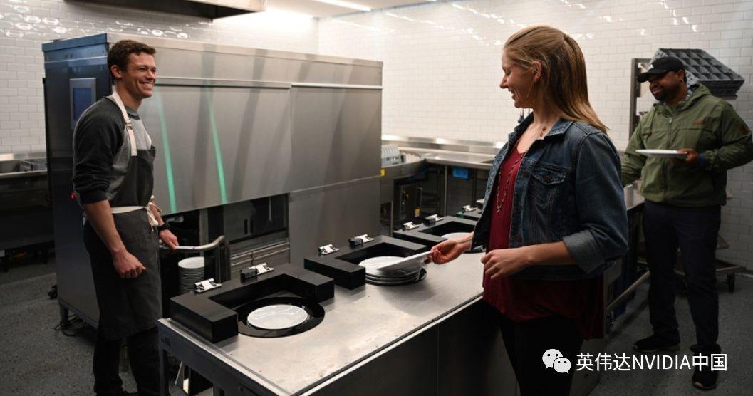 厨房的秘密:初创企业推出机器人洗碗机
