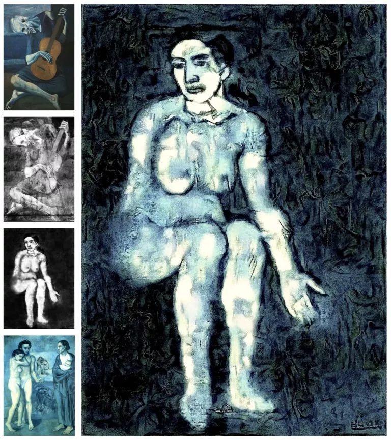 AI首次帮助重现隐藏的毕加索画作