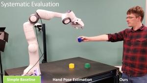 NVIDIA 研究人员变身机器人 AI 训练师 ,改善人机交互