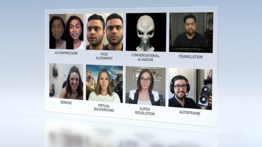 NVIDIA推出云AI视频流平台 让远程工作与学习实现更好的连接