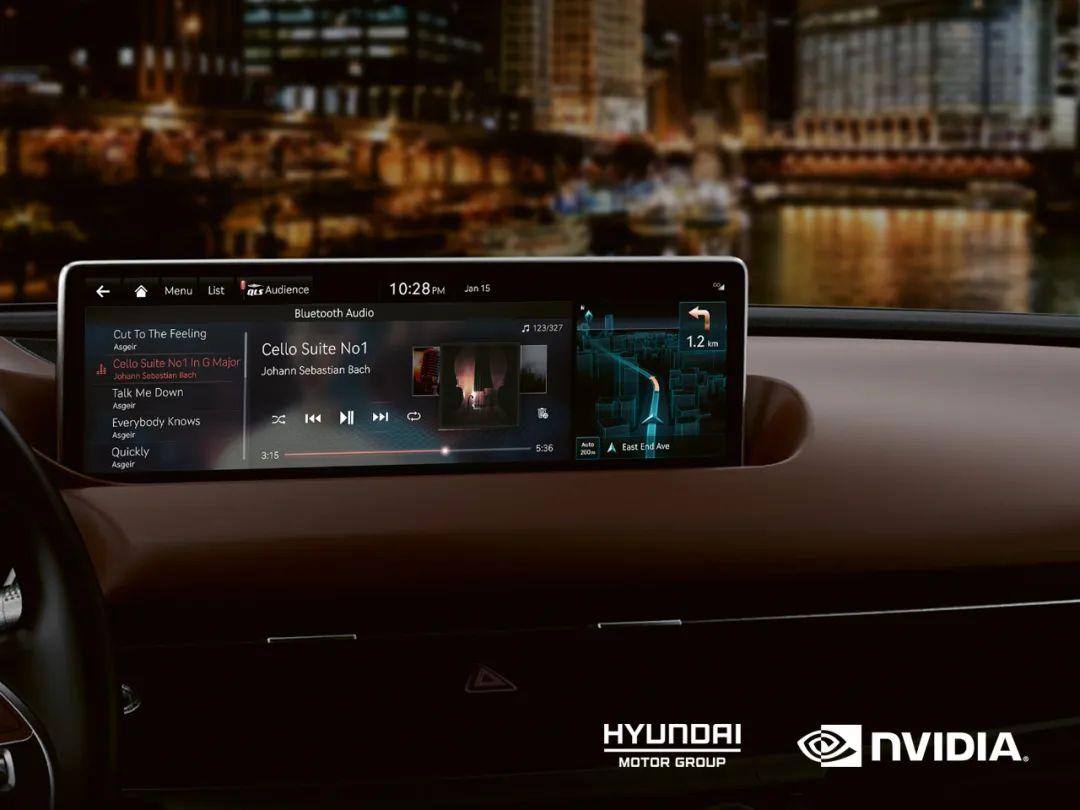 现代汽车将在现代、起亚和Genesis未来车型中采用NVIDIA DRIVE