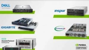 顶尖OEM厂商发布全球首批用于处理AI工作负载的NVIDIA认证系统