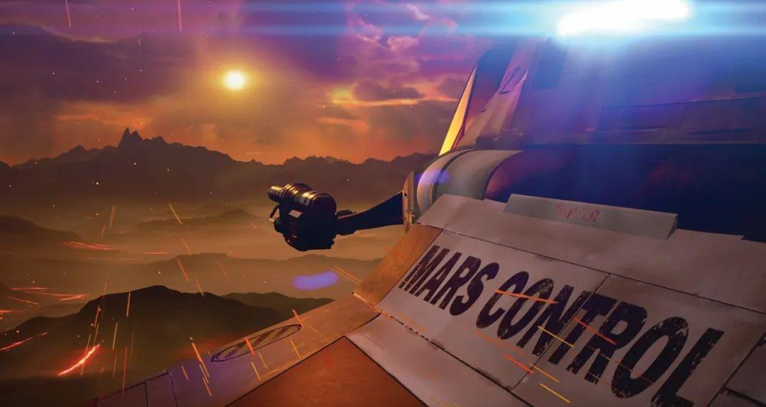 NVIDIA RTX 实时渲染为电影 Gods of Mars 打造逼真视效