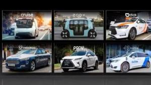 GTC21   NVIDIA DRIVE赋能领先的自动驾驶出租车公司